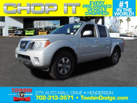 Pre-Owned 2013 NISSAN FRONTIER PRO-4X 4X4