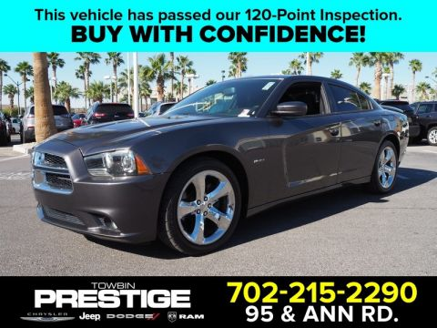Pre-Owned 2014 DODGE CHARGER 4DR SDN RT RWD