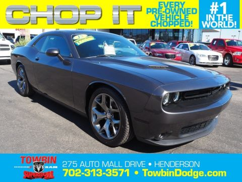 Pre-Owned 2015 DODGE CHALLENGER SXT PLUS