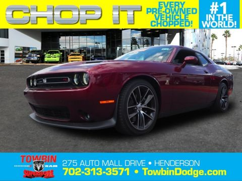 Pre-Owned 2017 DODGE CHALLENGER HEMI SCAT PACK