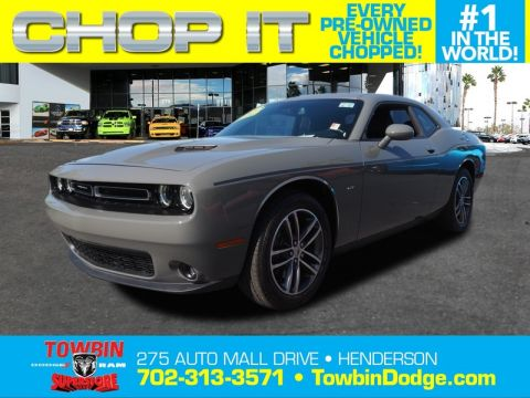 Pre-Owned 2018 DODGE CHALLENGER GT