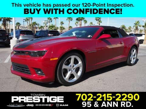 Pre-Owned 2015 CHEVROLET CAMARO 2DR CONV SS W/2SS