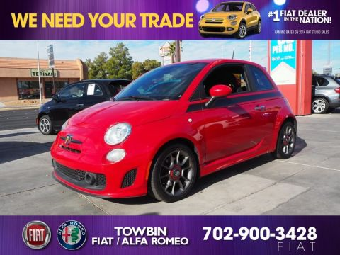 Pre-Owned 2015 FIAT 500 ABARTH BASE