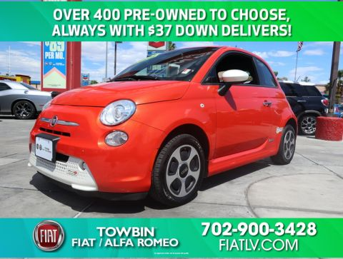 Pre-Owned 2014 FIAT 500 E POP