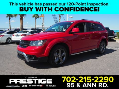 Pre-Owned 2017 DODGE JOURNEY CROSSROAD PLUS FWD