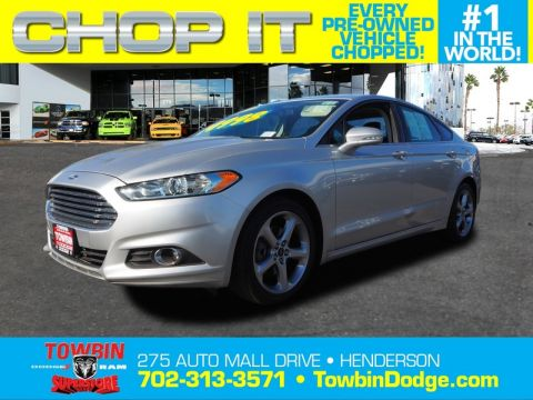 Pre-Owned 2013 FORD FUSION SE APPEARANCE
