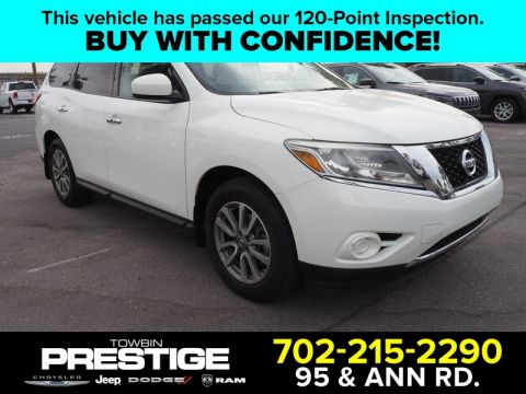 Pre-Owned 2014 NISSAN PATHFINDER 2WD 4DR S