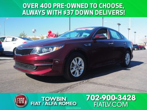 Pre-Owned 2016 KIA OPTIMA LX 2.4
