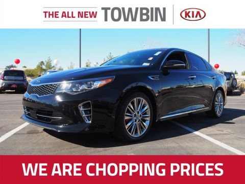 Pre-Owned 2017 KIA OPTIMA SXL 2.0T
