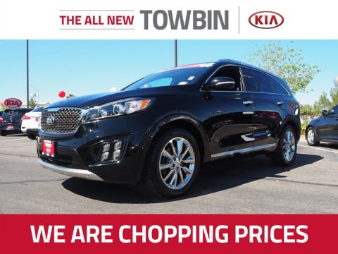 Pre-Owned 2016 KIA SORENTO SX LIMITED