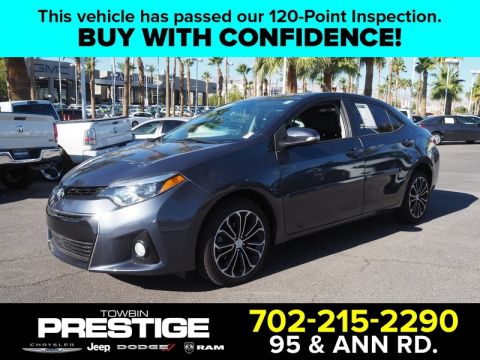 Pre-Owned 2015 TOYOTA COROLLA 4DR SDN CVT S