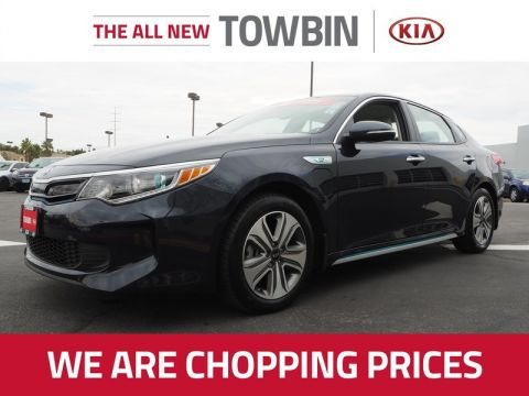 Pre-Owned 2018 KIA OPTIMA PLUG-IN HYBRID EX