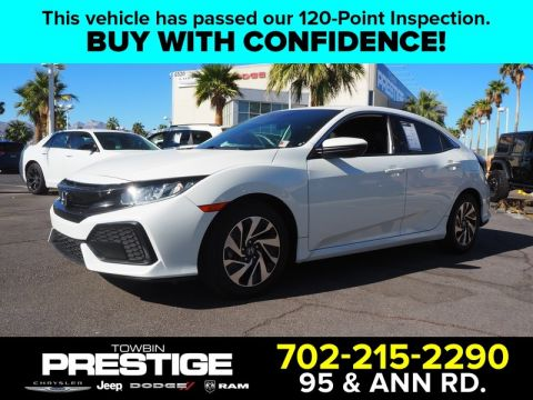 Pre-Owned 2017 Honda CIVIC HATCHBACK LX CVT W/Honda SENSING