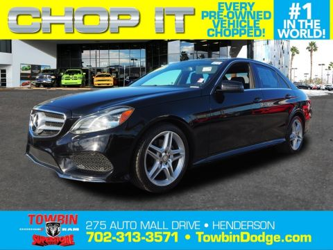 Pre-Owned 2014 MERCEDES-BENZ E350 LUXURY